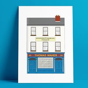 Tom Mahers  Pub A4 Print
